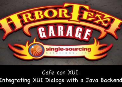 Café con UI: Integrating XUI Dialogs with a Java Backend