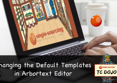 Changing the default templates in Arbortext Editor