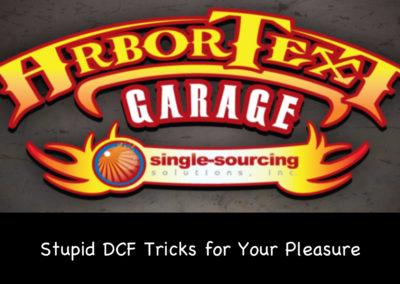 Stupid DCF Tricks for Your Pleasure