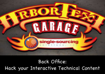 Back Office: Hack Your Interactive Technical Content