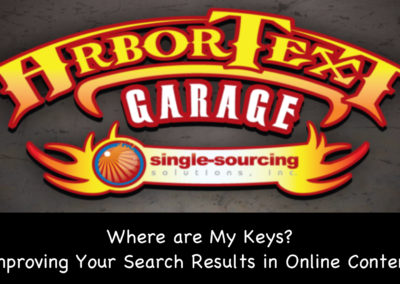 Where are My Keys: Improving Your Search Results in Online Content
