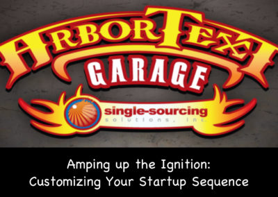 Amping up the Ignition: Customizing your Startup sequence