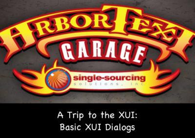 A Trip to the XUI: Basic XUI Dialogs