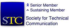 STC member badge - senior member and sustaining member